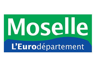 Logo of Moselle, l'eurodépartement